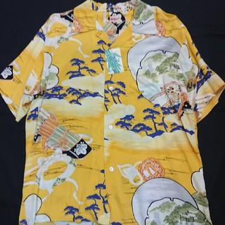 サンサーフ(Sun Surf)の新品 サンサーフ ハワイアンシャツ 合戦 家紋 ss32165(シャツ)