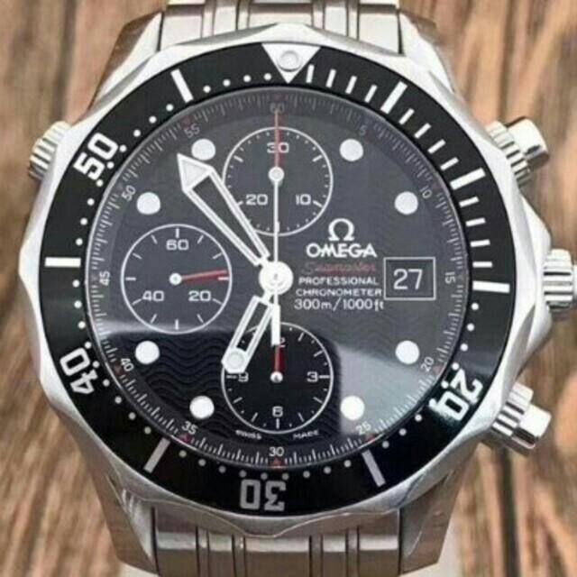 時計コピー 激安通販 | OMEGA - OMEGA . オメガ シーマスター クロノメーター デイト メンズ 腕時計の通販 by 二宮 健生 's shop|オメガならラクマ