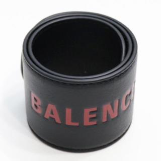 バレンシアガ(Balenciaga)の新品 バレンシアガ サイクル ブレスレット バングル リストバンド ブラック 黒(ブレスレット/バングル)