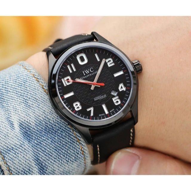 モーリス・ラクロア時計コピー比較 | IWC - IWC メンズファッション 自動巻き 夜色 腕時計 の通販 by xxxu's shop|インターナショナルウォッチカンパニーならラクマ
