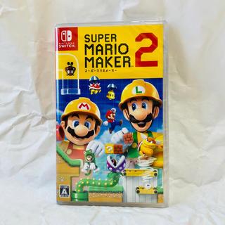 Nintendo Switch - スーパー マリオ メーカー2 任天堂 新品未開封!