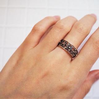 【15.5号】Flower Ring《SILVER925》18380039(リング(指輪))