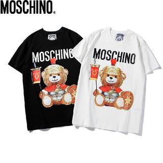 モスキーノ(MOSCHINO)のMOSCHINO  夏服    [人気Tシャツ2枚 送料込み]  男女兼用(Tシャツ/カットソー(半袖/袖なし))