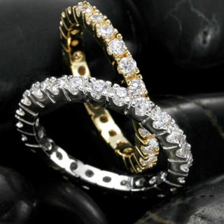 指輪  15号 ステンレス 未使用  ゴールドとシルバーあり。どちらかです。(リング(指輪))