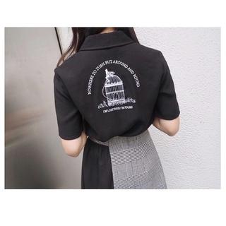 イートミー(EATME)のイートミー  eatme ブラック 半袖シャツ(Tシャツ(半袖/袖なし))