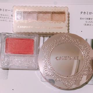 キャンメイク(CANMAKE)のCANMAKE キャンメイク コスメセット 3点まとめ売り(コフレ/メイクアップセット)