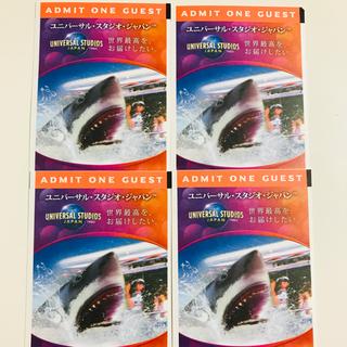 USJ チケット 4名 ユニバーサルスタジオジャパン