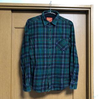 ユニクロ(UNIQLO)のユニクロ   チェック  ネルシャツ  【 M 】 古着(シャツ)