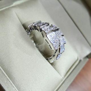 BVLGARI - 超美品Bvlgari リング(指輪) シルバー Au750 刻印 調節でき