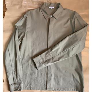 Jil Sander - JIL SANDER カーキシャツ