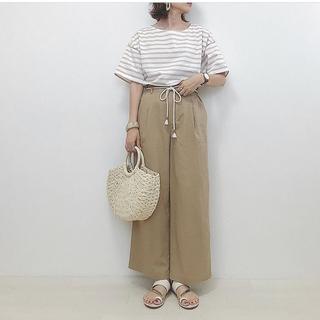 シマムラ(しまむら)のプチプラのあや ボーダーT Lサイズ(Tシャツ(半袖/袖なし))