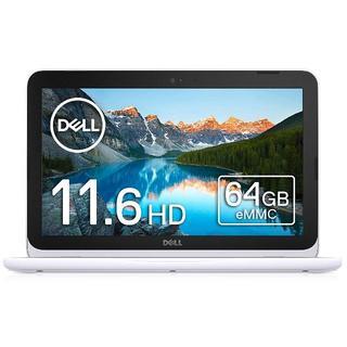 デル(DELL)の Dell ノートPC Inspiron 11 3180 AMD-A6 ホワイト(ノートPC)