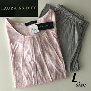 LAURA ASHLEY - 新品★LAURA ASHLEY 花柄 ピンク パジャマ ルームウエア Lサイズ