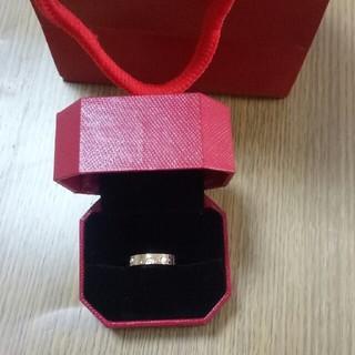 カルティエ(Cartier)のCartier カルティエ 指輪 リング メンズ 8号(リング(指輪))