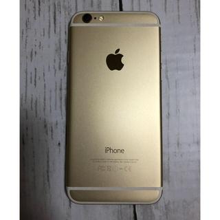 アイフォーン(iPhone)のiPhone6 ゴールド 16GB(強化ガラスシート付)(スマートフォン本体)