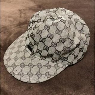 グッチ(Gucci)のGUCCI グッチ オリジナル GG キャンバス ベースボール キャップ CAP(キャップ)