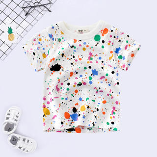 ZARA - ペイントTシャツ