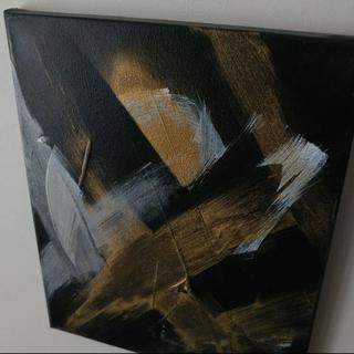 フランフラン(Francfranc)のモダンアート 抽象画 アブストラクトペインティング キャンバスアート(絵画/タペストリー)