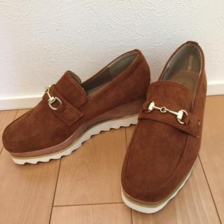 コウベレタス(神戸レタス)のオックスフォード ブラウン  未使用(ローファー/革靴)