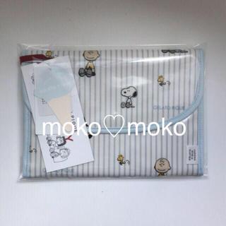 ジェラートピケ(gelato pique)のジェラートピケ ♡ 【PEANUTS】ストライプ母子手帳ケース(母子手帳ケース)