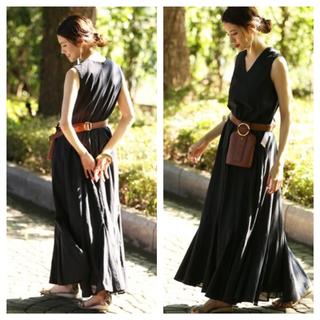 ノーブル(Noble)の【新品タグ付】《WEB・一部店舗限定》【MARIHA】夏の月影のドレス(ロングワンピース/マキシワンピース)