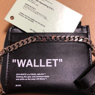 OFF-WHITE - off-white コインケース WALLET