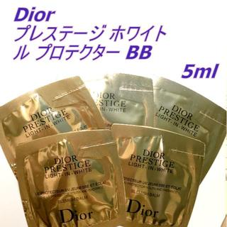 ディオール(Dior)の5ml★ Dior プレステージ ホワイト ル プロテクター BB クリーム D(BBクリーム)