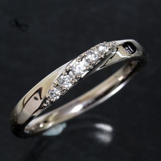 ヨンドシー(4℃)の4℃ シルバー デザイン リング 10号 SILVER 新品仕上げ済み(リング(指輪))