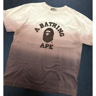 アベイシングエイプ(A BATHING APE)のアベイシング エイプ グラデーション Tシャツ (Tシャツ/カットソー(半袖/袖なし))