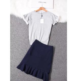 セリーヌ(celine)のCELINE・セットワンピース(Tシャツ(半袖/袖なし))