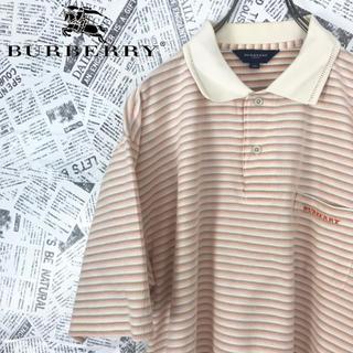 バーバリー(BURBERRY)のバーバリー ゴルフ マルチボーダー ポロシャツ ワンポイントロゴ(ポロシャツ)