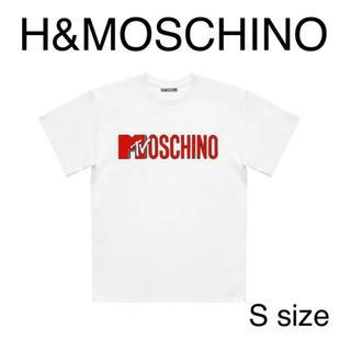 モスキーノ(MOSCHINO)の【美品!】MOSCHINO モスキーノ コラボ Tシャツ ホワイト(Tシャツ/カットソー(半袖/袖なし))