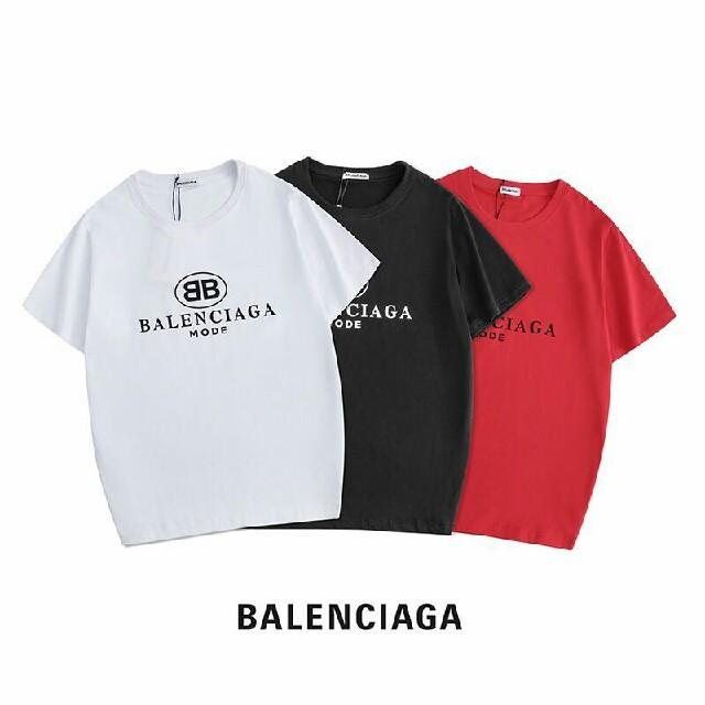 Balenciaga(バレンシアガ)の2枚5000円送料込み 男女兼用 Tシャツ 半袖 美品  メンズのトップス(Tシャツ/カットソー(半袖/袖なし))の商品写真