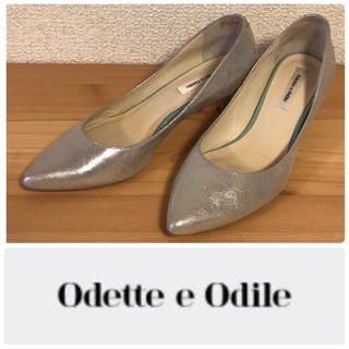 オデットエオディール(Odette e Odile)のOdette e Odile パンプス 23.5(ハイヒール/パンプス)