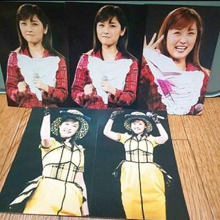 モーニングムスメ(モーニング娘。)の石川梨華さん 写真 5枚セット(アイドルグッズ)