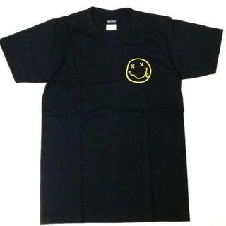 ニルヴァーナ 半袖 Tシャツ チョビニコ 2 イエロー L 黒 ニルバーナ(Tシャツ/カットソー(半袖/袖なし))