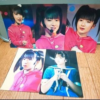 モーニングムスメ(モーニング娘。)の辻希美さん 写真 5枚セット(アイドルグッズ)