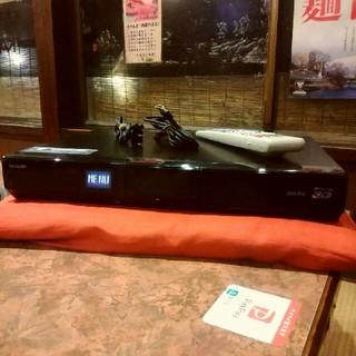 SHARP - SHARP BD-HDS63  スカパーHD録画搭載リモ等付 HDD320GB❗