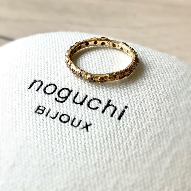DEUXIEME CLASSE(ドゥーズィエムクラス)のnoguchi ブラウンダイヤフルエタニティリング レディースのアクセサリー(リング(指輪))の商品写真