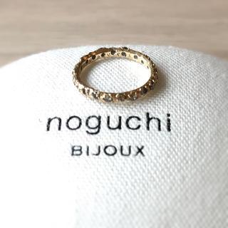 ドゥーズィエムクラス(DEUXIEME CLASSE)のnoguchi ブラウンダイヤフルエタニティリング(リング(指輪))