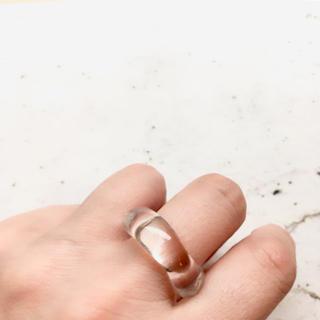 クリアリング   ˚✧₊ 16号(リング(指輪))