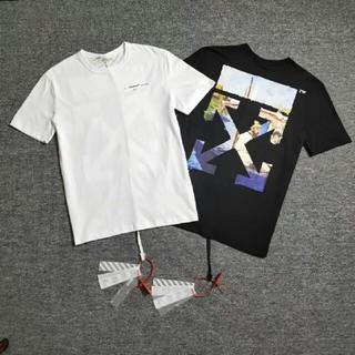 OFF-WHITE - Tシャツ 男女兼用 2枚5000円 送料込み