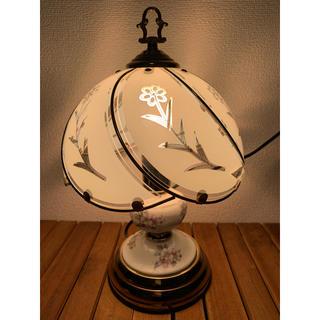 アンティーク  陶器 3段階調光式タッチセンサー ライト