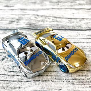 ディズニー(Disney)の【新品】レア! 希少!  カーズ ダイナコ ゴールド シルバー ミニカー セット(ミニカー)