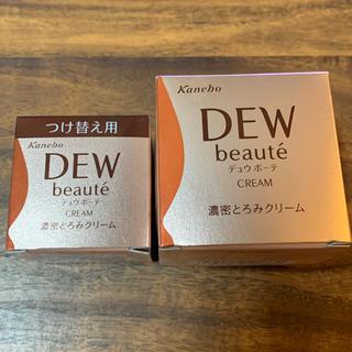 カネボウ(Kanebo)のDEW beaute クリーム 本体+付け替えセット(フェイスクリーム)