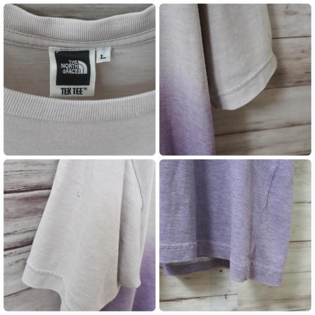 THE NORTH FACE(ザノースフェイス)のThe North Face グラデーションビッグロゴ Tek Tee メンズのトップス(Tシャツ/カットソー(半袖/袖なし))の商品写真