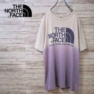 THE NORTH FACE - The North Face グラデーションビッグロゴ Tek Tee