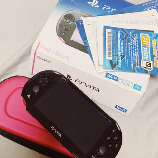 PlayStation Vita - PlayStation VITA ピンク