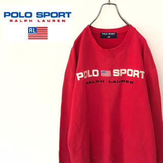 POLO RALPH LAUREN - 【90s】ポロスポーツ プルオーバースウェット ラルフローレン 古着 ゆるだぼ
