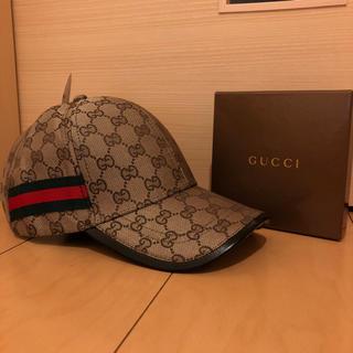 グッチ(Gucci)のグッチ キャップ ベージュ(キャップ)
